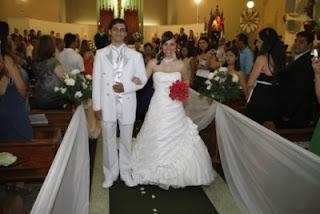Casamento de Lizena e Júnior