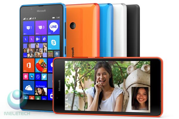 Spesification and price Microsoft Lumia 540 Dual SIM