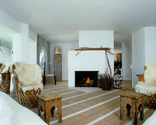 Beach House Fireplace