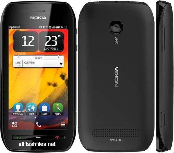 Nokia 603 (RM-779) Latest Flash File Download Free