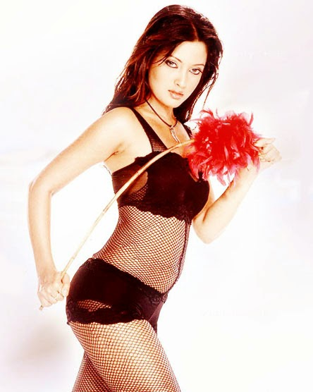 Bollywood actress Riya Sen in Stockings lingerie hot sexy unseen rare pics collection hd