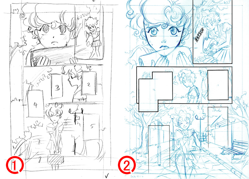 Nashis world intermediate stages page 10 of my manga intermediate stages page 10 of my manga pronofoot35fo Images