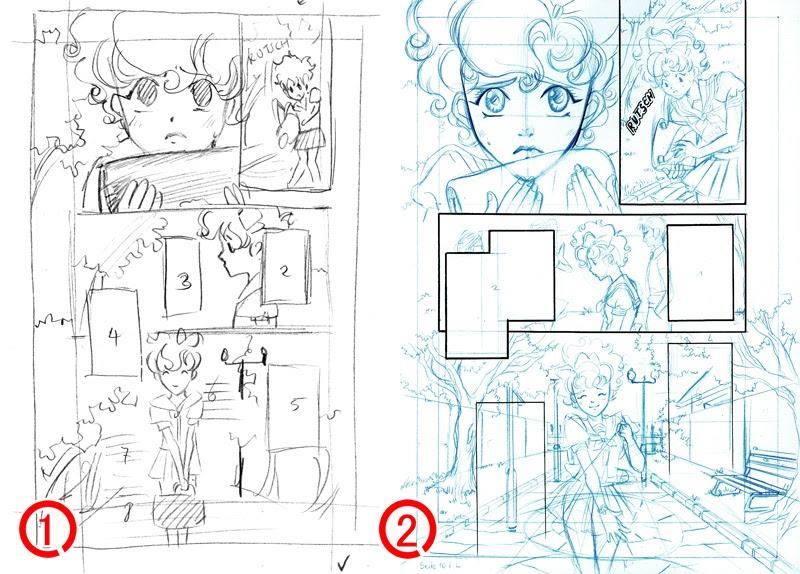 nashi\'s world: intermediate stages page 10 of my manga