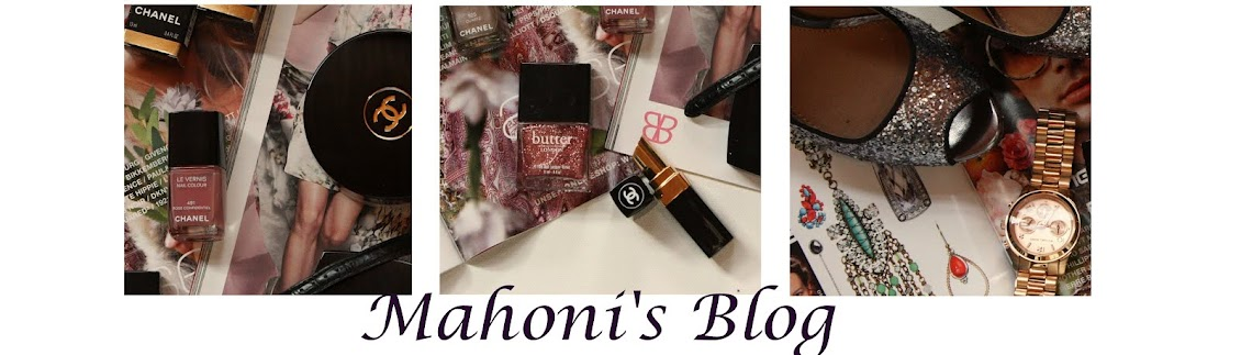 Mahonis Blog
