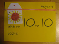 picture book 10 for 10, #pb10for10