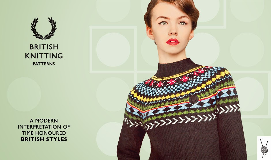 Fred Perry Knitting Patterns Crazy Knitter
