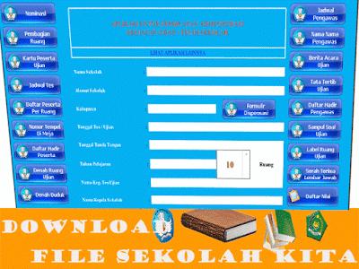Aplikasi Pembuatan Administrasi Kegiatan Ujian Nasioanl|Sekolah 2016