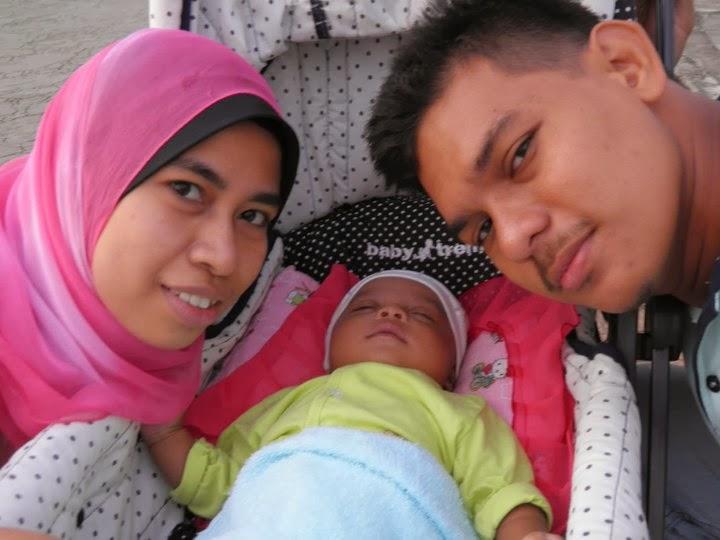 Me,Hubby & Rayyan