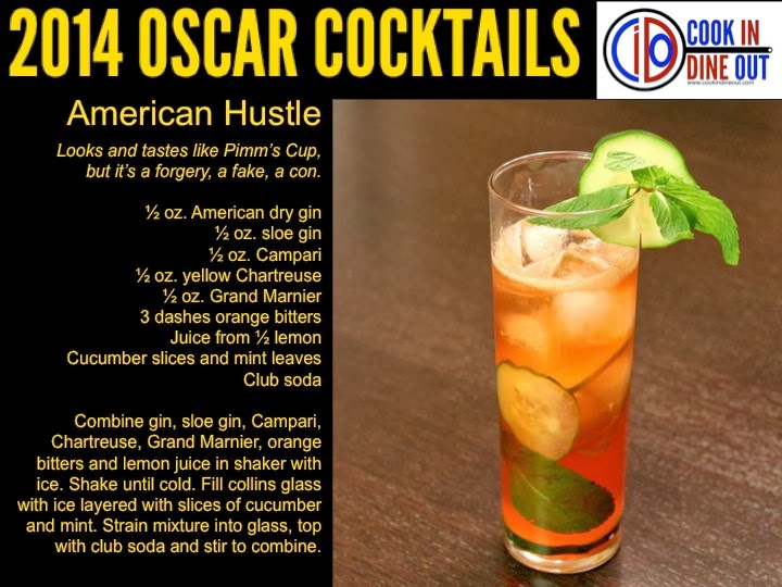 Oscar Cocktails American Hustle