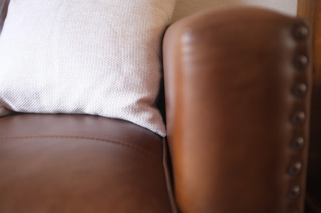 Leather sofa John Lewis