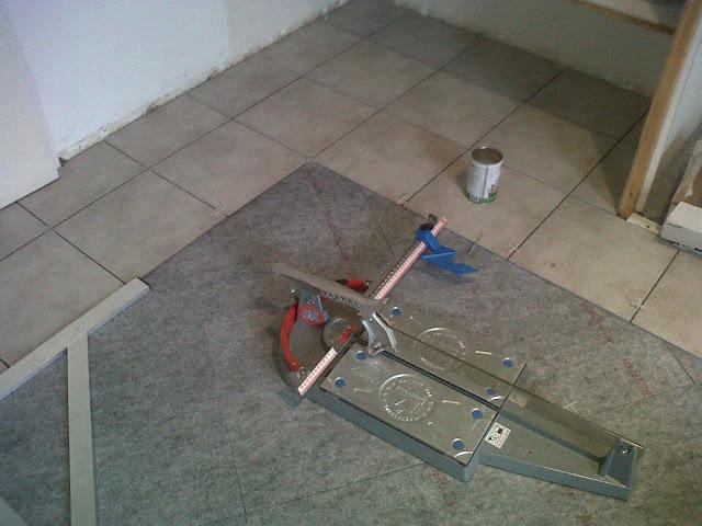 Concept  Carrelage  Création Pose dun 33×33 en appartement avec