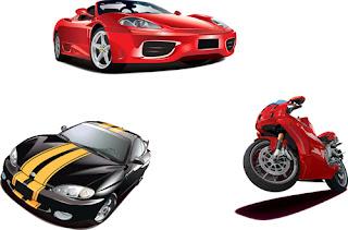 vetores de automóveis free para download