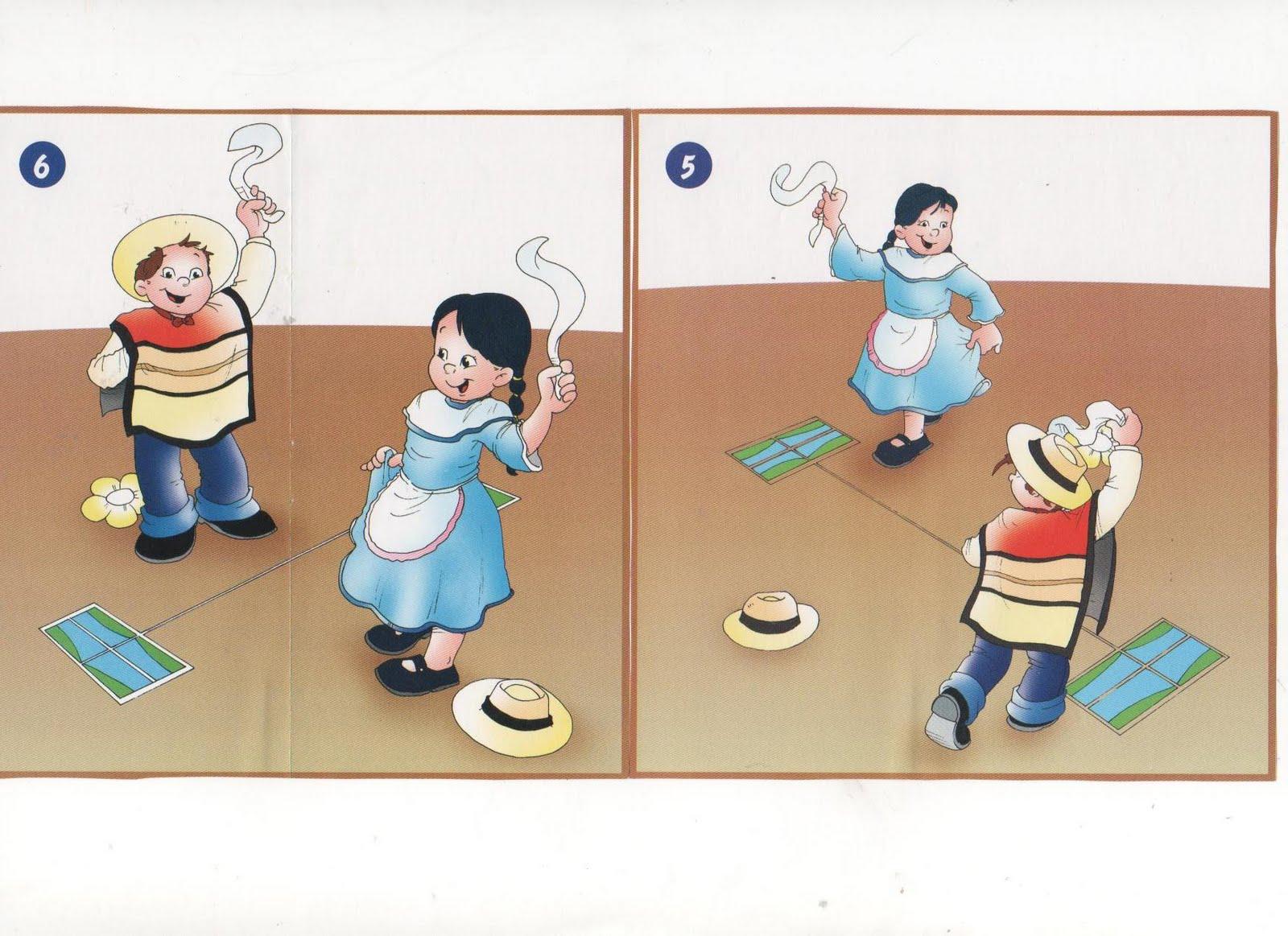 Material did ctico pasos cueca - Pasos para pintar ...