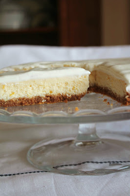 Receta tarta de queso_receta glaseado chocolate blanco_receta cheesecake