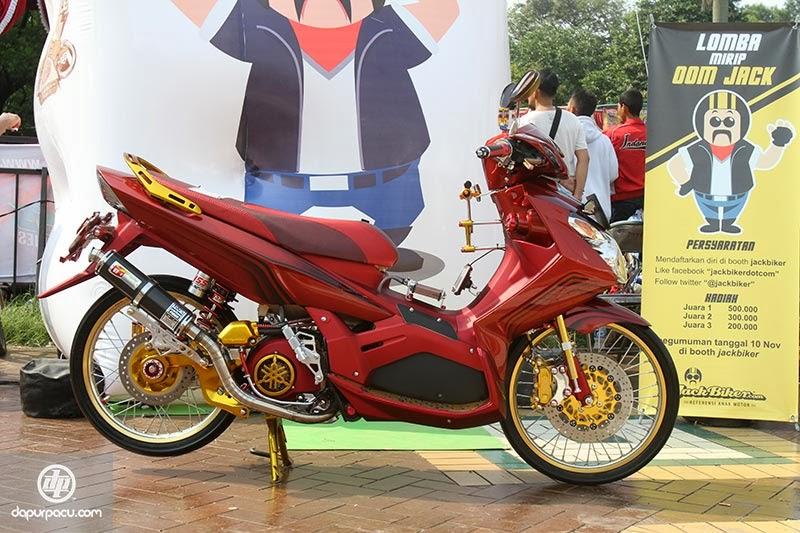Motor Warna-warni Jadi Trend di Tahun 2014 | Gambar Modifikasi Motor ...