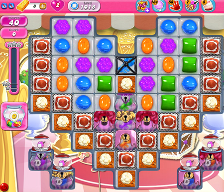Candy Crush Saga 1018