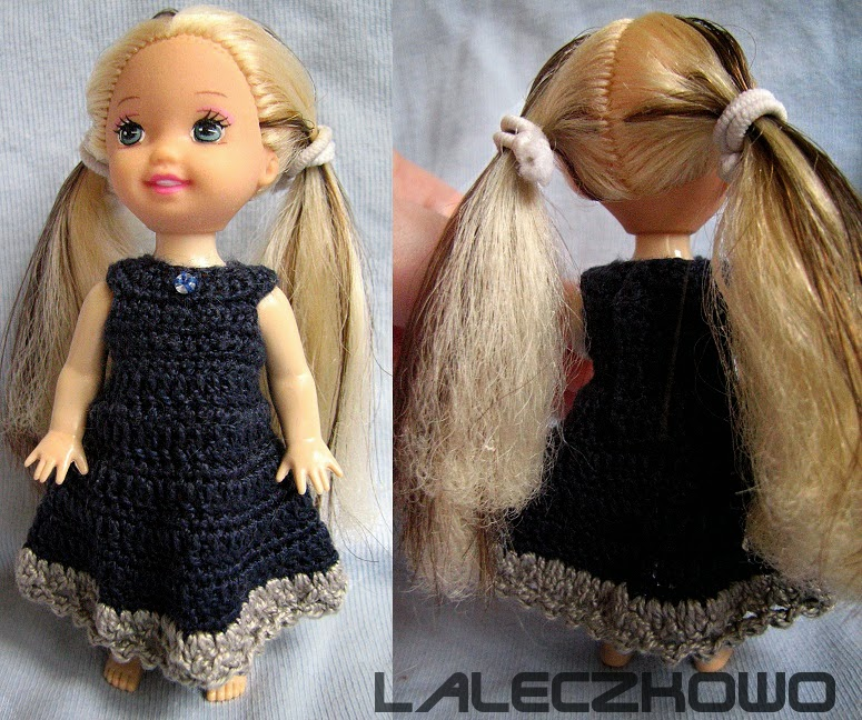 rooting doll with human hair