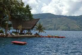 Letak Pulau Samosir di Danau Toba Sumatera Utara