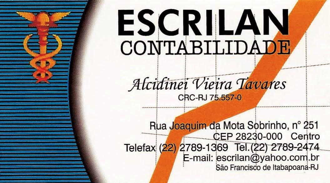 ESCRILAN CONTABILIDADE (Alcidinei Vieira Tavares)