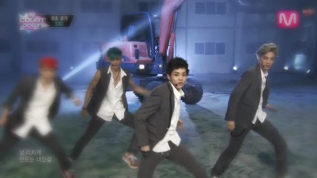 xiumin kai exo growl m! countdown 130801