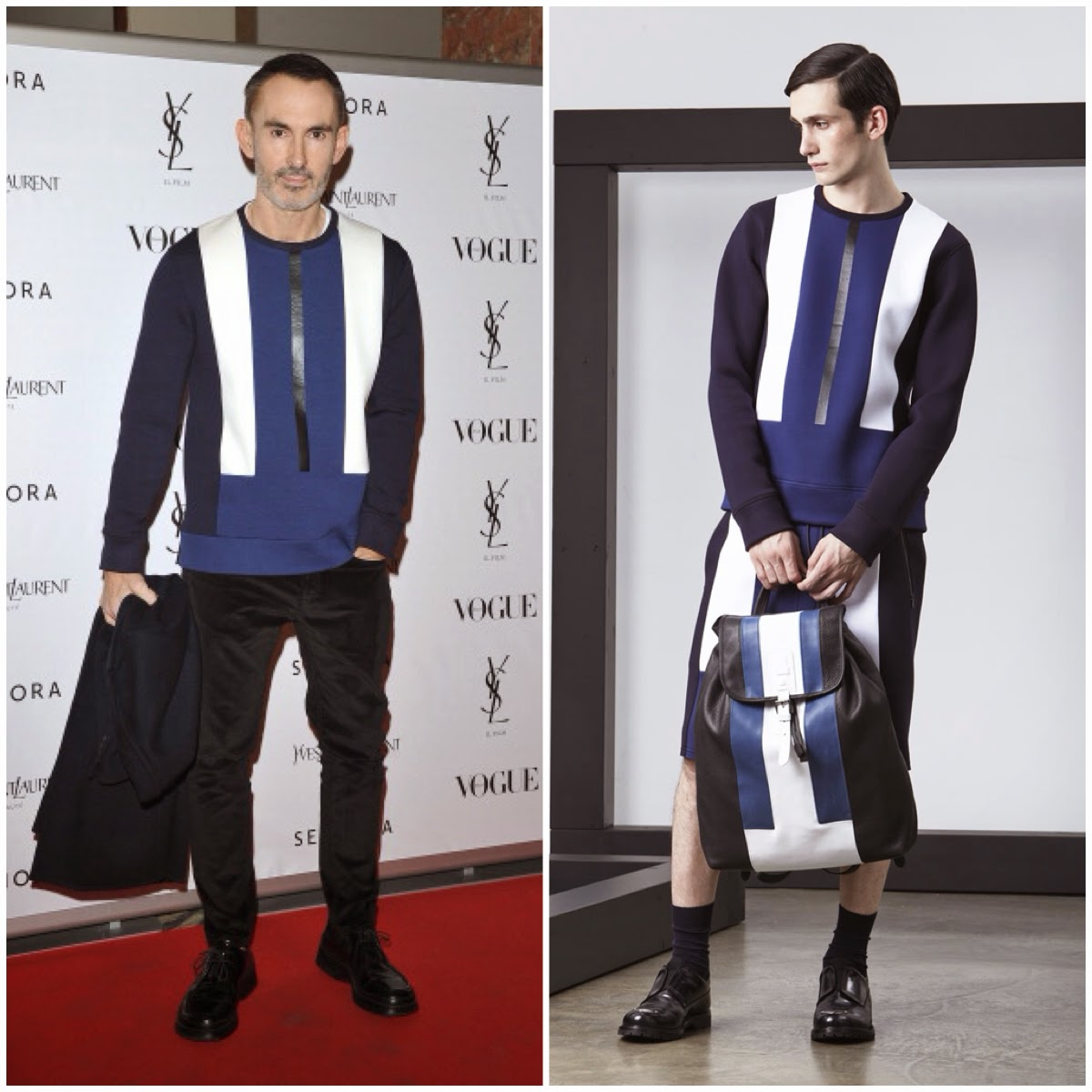 Neil Barrett in Neil Barrett - 'Yves Saint Laurent' - Premiere, Milan