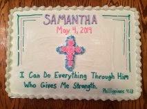 Cross Religious Cake
