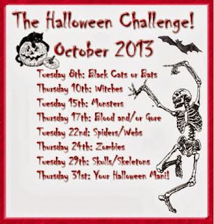 2013 Halloween Nail Art Challenge