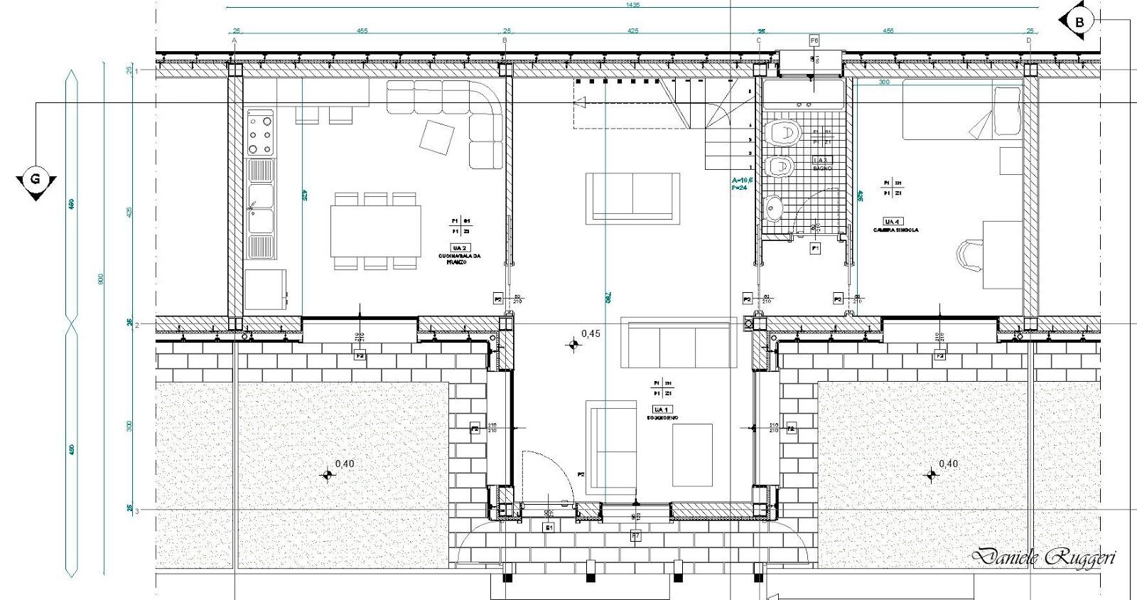 Daniele ruggeri project progetto di un complesso for Software di piano architettonico