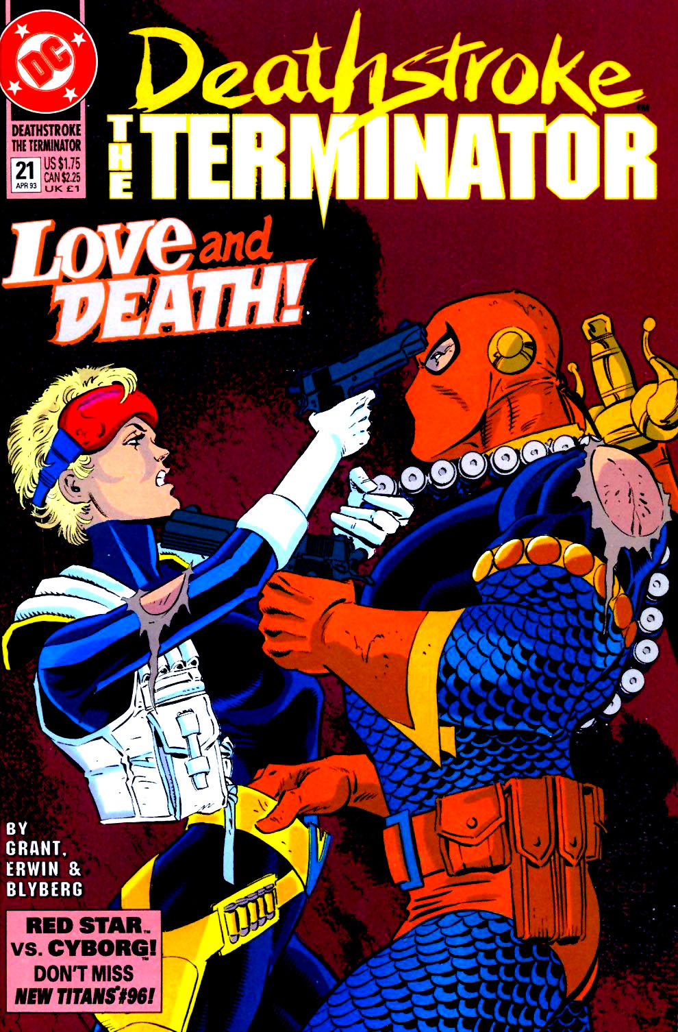 Deathstroke (1991) Issue #21 #26 - English 1