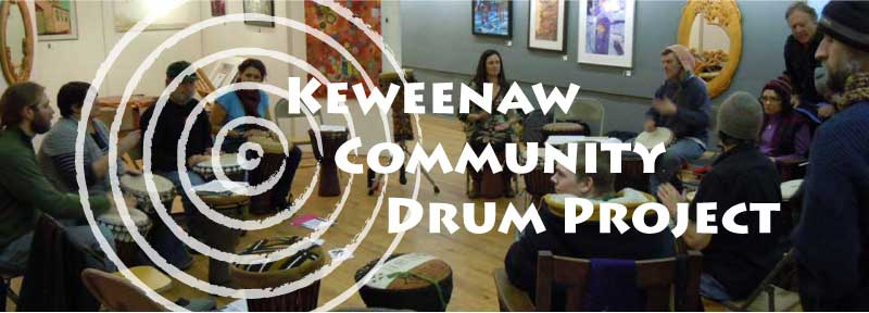 Keweenaw Community Drum Project