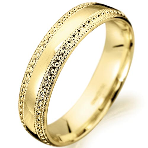Fossils antiques gold wedding ring rings for women for Wedding gold rings for women