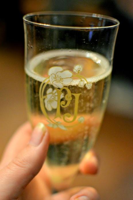 Champagne at Sanctum Soho fashion event
