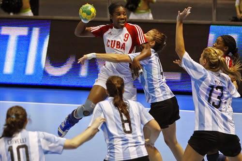 Cuba - Argentina Handball Femenino | Mundohandball.com