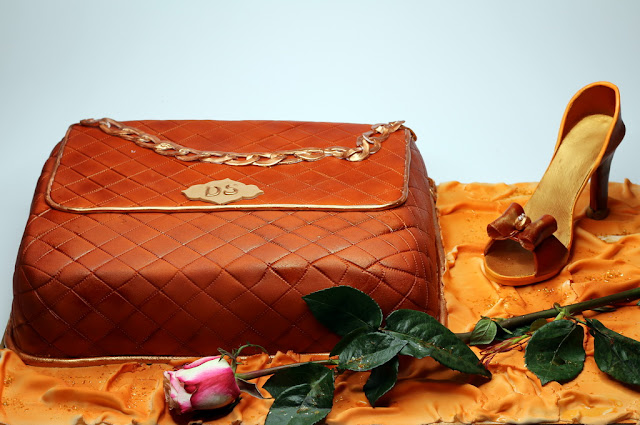 Handbag Gucci Birthday Cake