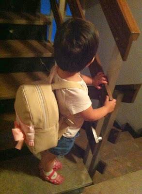 mochila para guarderia