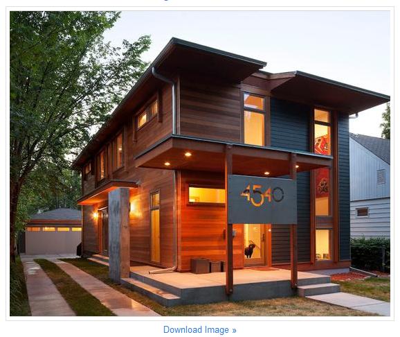 model rumah kayu 1 lantai 578x486 pixel