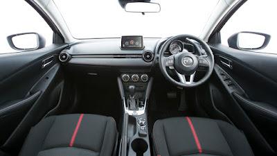 Interior All New Mazda 2