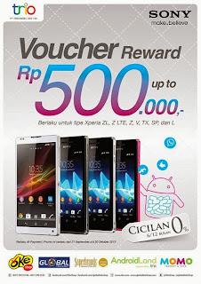 Promo Sony Xperia Oktober 2013 Di Indonesia