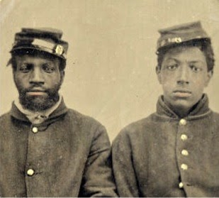 Two USCT Soldiers