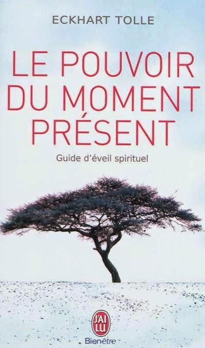 livres et lecture de développement personnel - pouvoir moment present