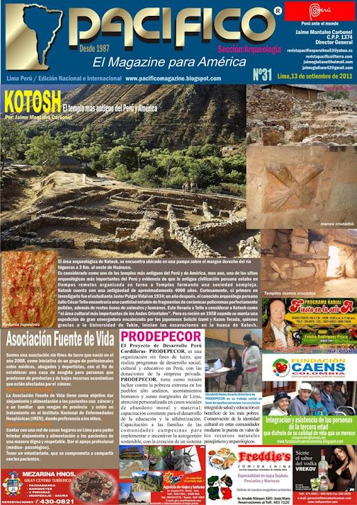 Revista Pacífico Nº 31 Arqueología