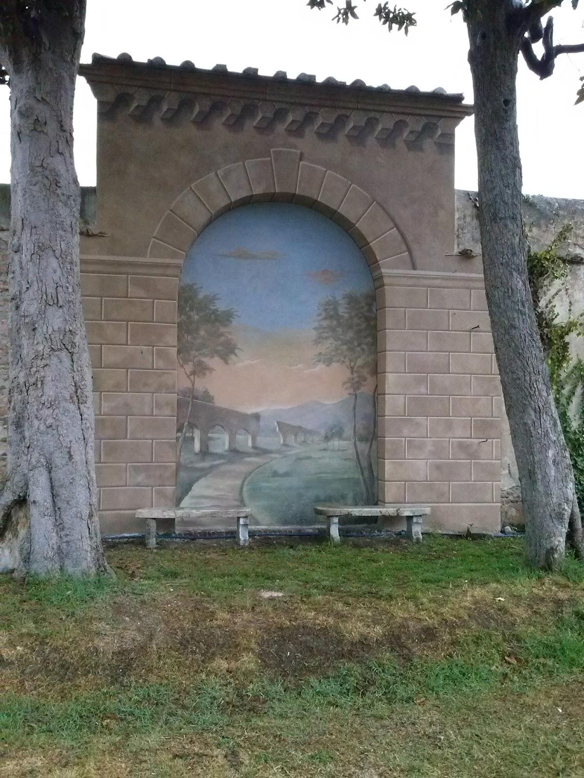 Arternativa decori decorazione del muro interno di un - Giardino interno ...