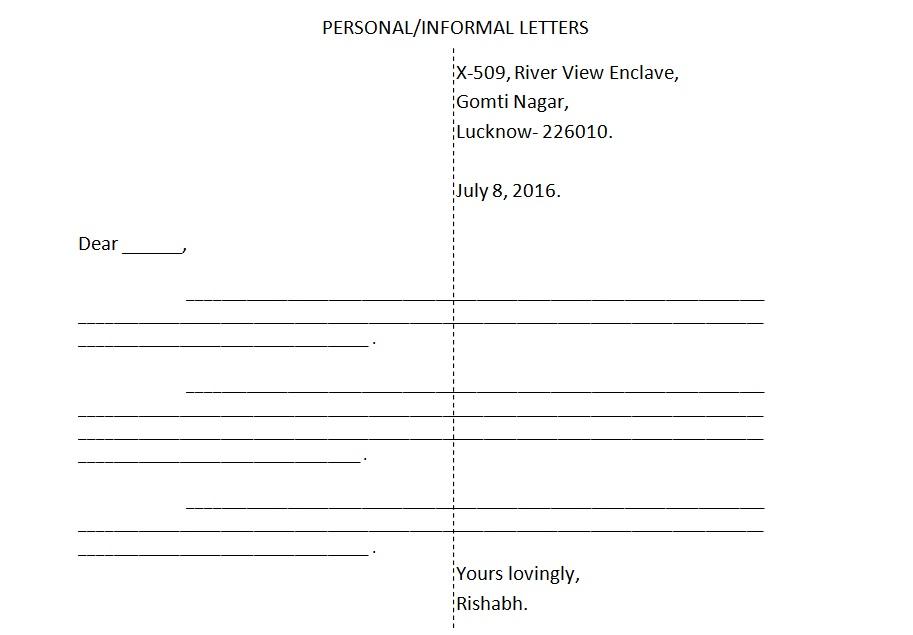 Formal letter format icse new letter writing format of icse artraptors spiritdancerdesigns Choice Image