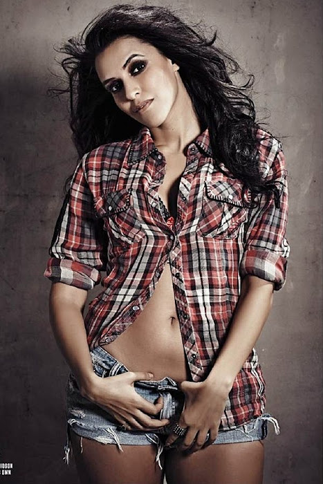 neha dhupia | spicy shoot for fhm mag