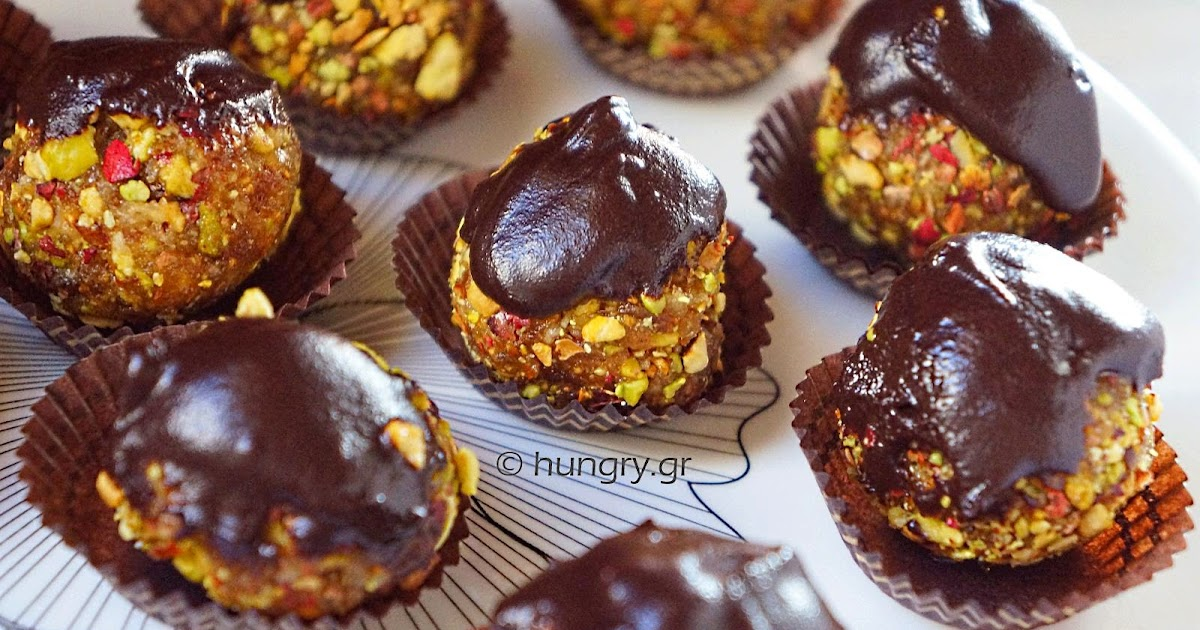 Kitchen Stories: Fig Pistachio & Date Truffles