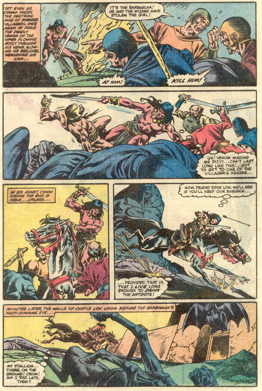 Conan the Barbarian (1970) Issue #134 #146 - English 21