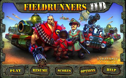 Fieldrunners HD apk