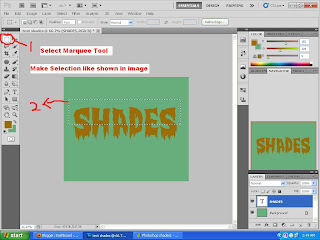 Text Shades in Photoshop