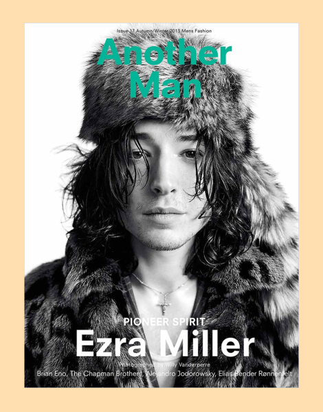 Ezra Miller by Willy Vanderperre for AnOther Man Cover No.17