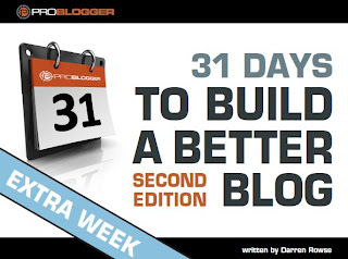 31 Days to Build a Better Blog - 2nd Edition (with Extra Week)